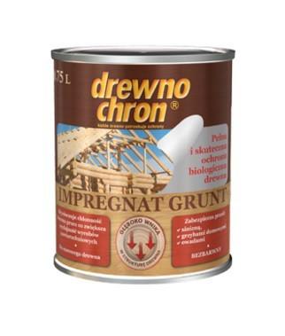 Drewnochron impregnat grunt bezbarwny 0.75l
