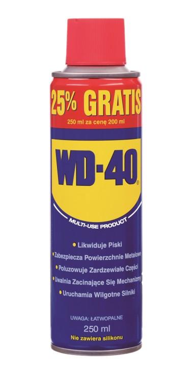 Preparat wielofunkcyjny wd-40 200ml + 25% gratis