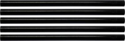 Wkłady klejowe 11,2x200mm 5szt czarne