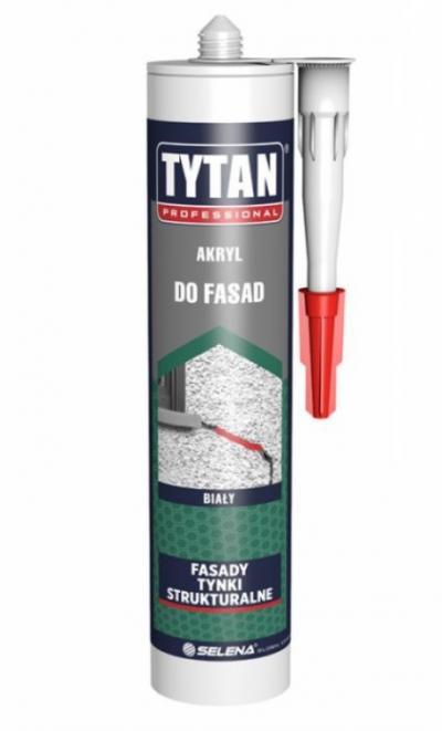 Akryl tytan do fasad 280ml biały