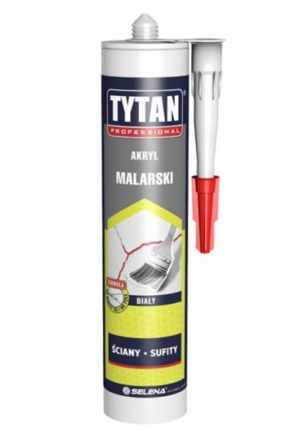 Akryl tytan malarski 280ml biały