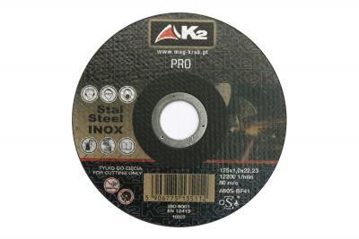 Tarcza do przecinania PRO K2 22x125x1,0mm