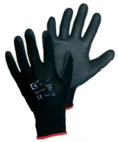Rękawice BRITA czarne  0001-5L