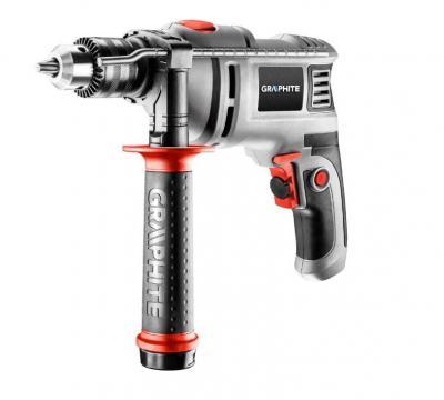 Wiertarka udarowa 650w uchwyt kluczykowy 13 mm obroty 0-3000