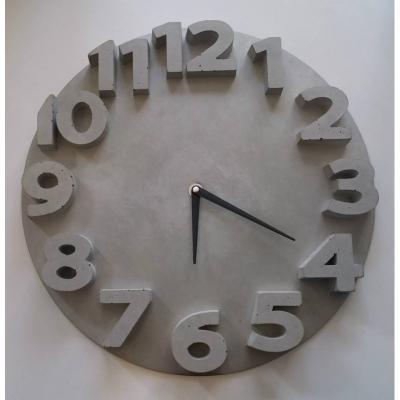 Zegar betonowy o średnicy 35cm