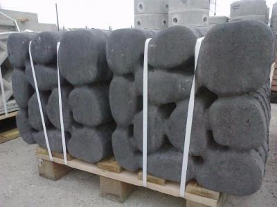 Płyta kamień rzeczny grafit