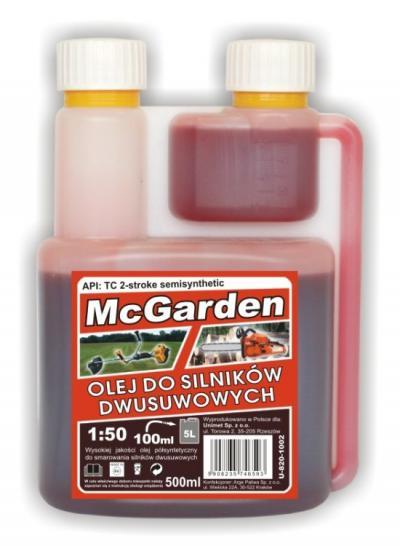 Olej do mieszanki do silników 2-suwowych 500 ml z dozownikie