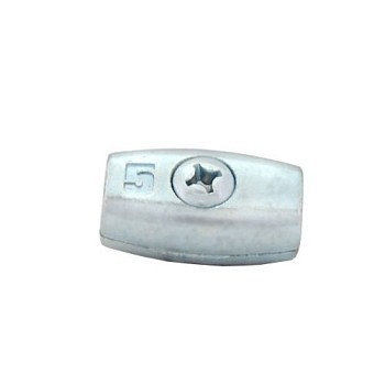 Zacisk linowy baryłkowy ocynkowany 5mm