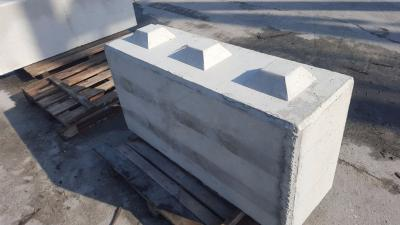 BETONOWY ELEMENT MURU 120X40X60CM