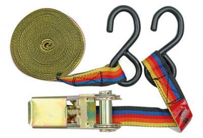 Taśma do bagażu z naciągaczem 25mm/5m