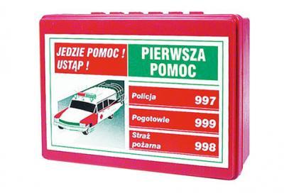 Apteczka samochodowa e-01