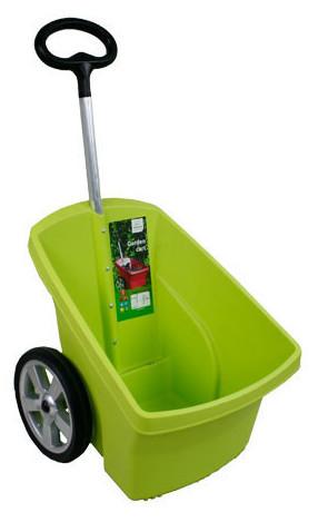 Wózek ogrodowy zielony