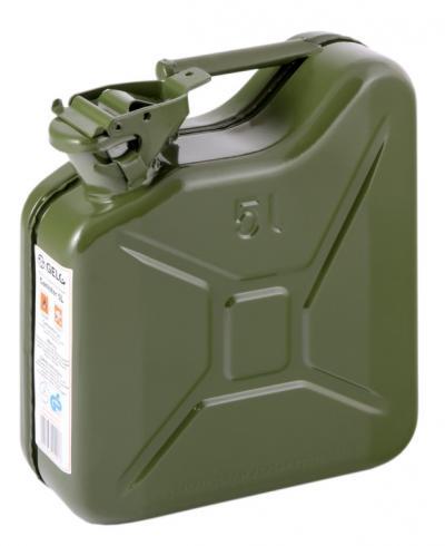 Kanister stalowy zielony ral 6003 5l