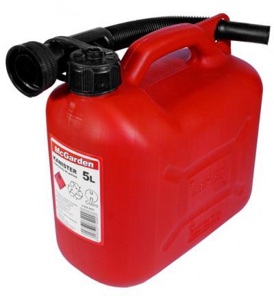 Kanister plastik na benzynę 5l