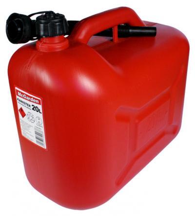 Kanister plastik na benzynę 20l