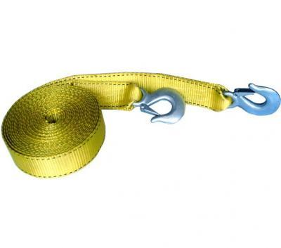 Lina holownicza elastyczna dwa haki 5m udźwig 5t