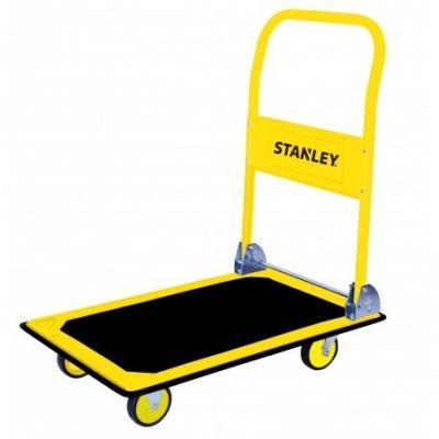Wózek stalowy składany platformowy 4-kołowy 150 kg
