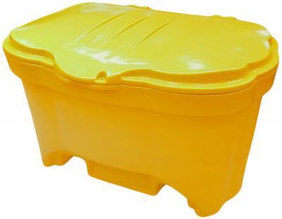 Pojemnik na piach/sól 150l żółty