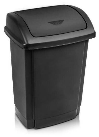 Pojemnik na odpady swing 25l pokrywa czarna