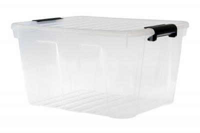 Pojemnik do przechowywania z pokrywą home box 30l