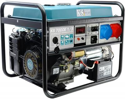 Agregat benzynowy 3/1f 5,0 kw vts e-1/3