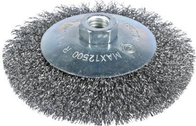 Szczotka tarczowo-kątowa 125mm zn