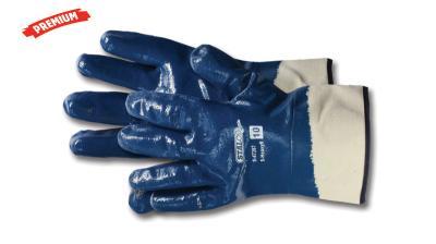 Rękawice bawełniane z powłoką nitrylową