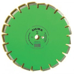 Tarcza diamentowa segmentowa sigma 350mm