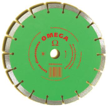 Tarcza diamentowa segmentowa omega 230mm