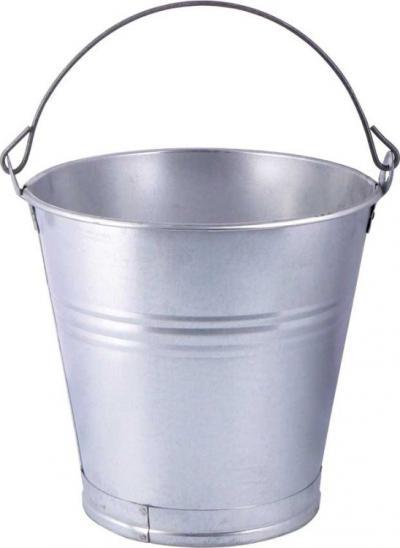 Wiadro z blachy ocynkowanej 15 litrów