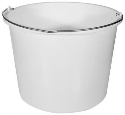 Wiadro plastikowe 12 litrów białe