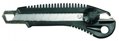 Nóż z ostrzem łamanym 18mm docisk śrubowy