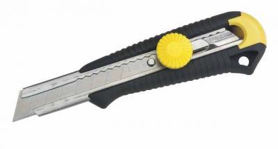 Nóż metalowy dynagrip mpo uchwyt z abs, ostrze łamane 9