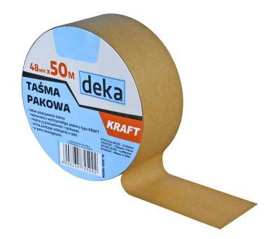 Taśma pakowa papierowa kraft 48mm*50m