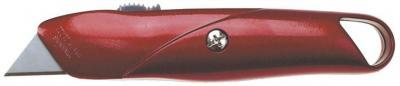 Nóż z ostrzem trapezowym chowanym metalowy