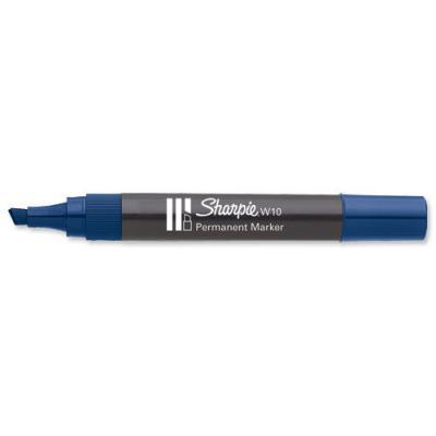 Marker ścięty niebieski w10 1.5-5.0mm