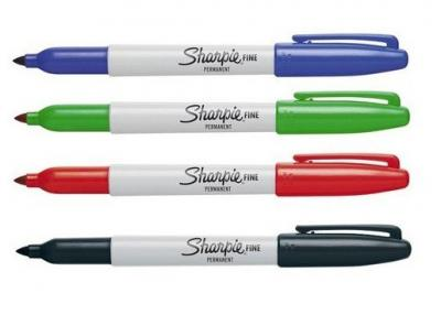 Marker fine pm-sharpie08 niebieski