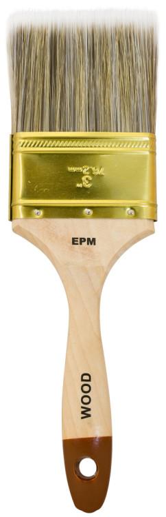 Pędzel angielski płaski wood 76mm - 3''