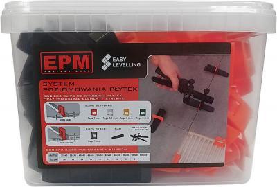System układania płytek easy leveling 50 klin+ 100 klips 1mm