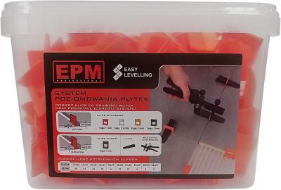 System układania płytek easy leveling 200 klipsów 1mm