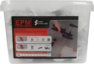 System układania płytek easy leveling 200 klipsów 1,5mm