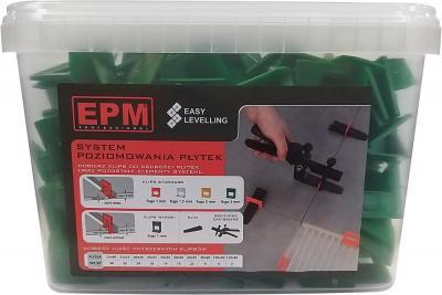 System układania płytek easy leveling 200 klipsów 3mm