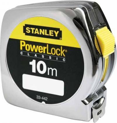 Miara powerlock, obudowa plastikowa [l] 10m/25mm