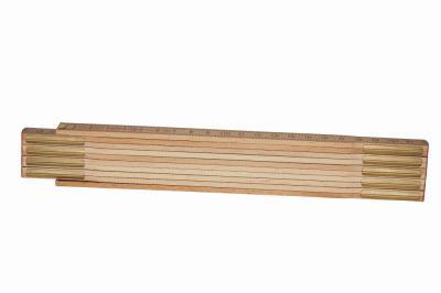 Miara składana drewniana 2m