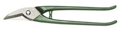 Nożyce kształtowe do wycinania otworów wygięte lewe 275mm