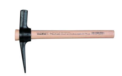 Młotek murarski z pobijakiem 0.7kg l-320mm