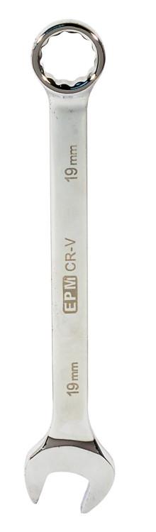 Klucz płasko-oczkowy polerowany 19mm