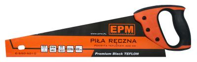 Piła ręczna teflonowa 7 zębów/cal premium black teflon 500mm