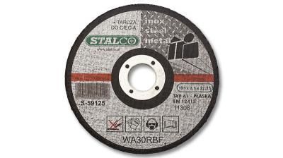 Tarcza do cięcia metalu płaska125x1,5 Stalco