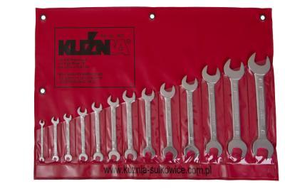 Komplet kluczy płaskich 13 sztuk 6-32mm